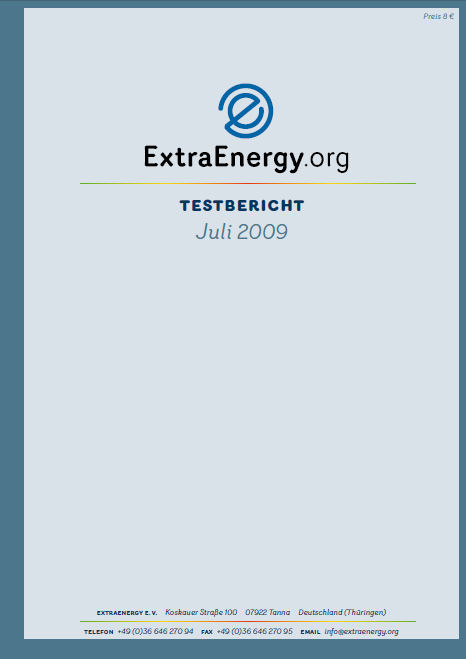 test comparatif velo electrique extraenergy 2009